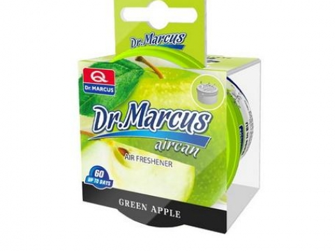 Ароматизатор Dr.Marcus AIRCAN Green Apple банка 40гр