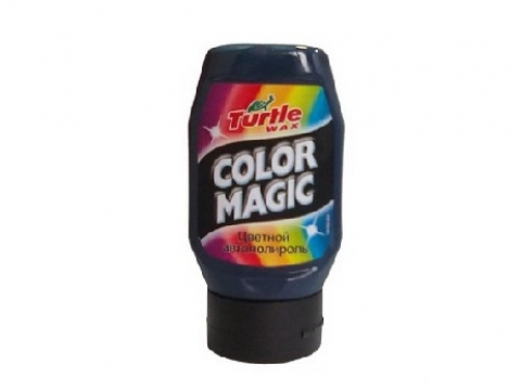 Полироль COLOR MAGIC СИНИЙ ТЕМНЫЙ 300 мл