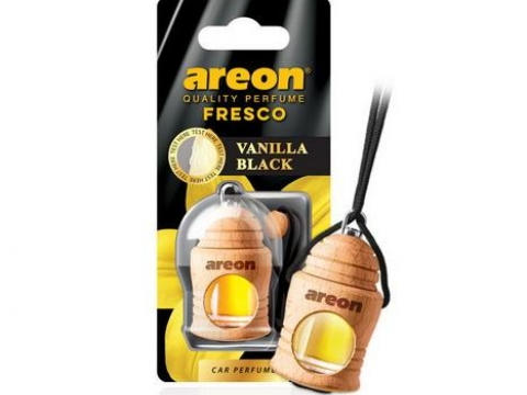"Ароматизатор AREON ""FRESCO"" Vanilla Black (Ванила блэк)"
