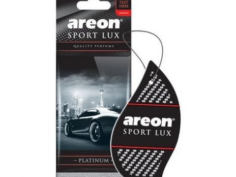"Ароматизатор AREON ""LUX"" Sport Platinum (Платина)"