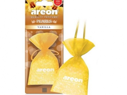 Ароматизатор AREON PEARLS Vanilla (Ваниль)