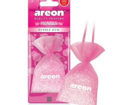 Ароматизатор AREON PEARLS Bubble Gum (Бабл Гам)