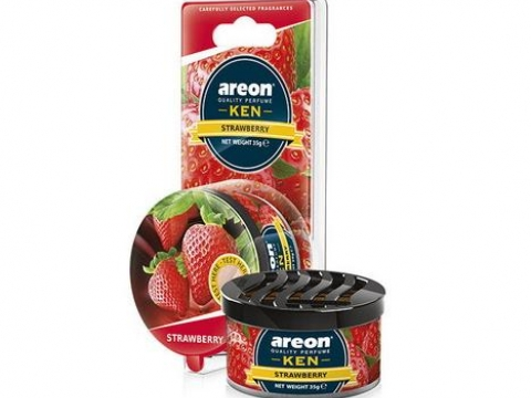 "Ароматизатор AREON ""GEL KEN BLISTER"" Strawberry (Клубника)"