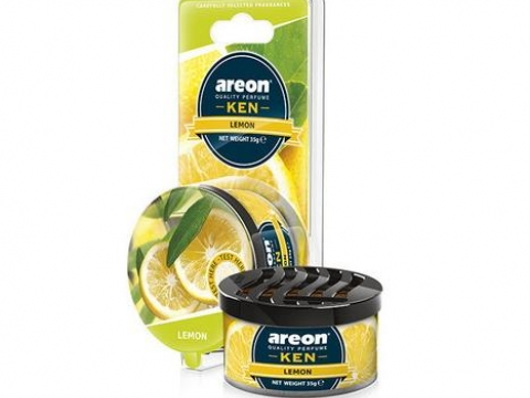 "Ароматизатор AREON ""GEL KEN BLISTER"" Lemon (Лимон)"