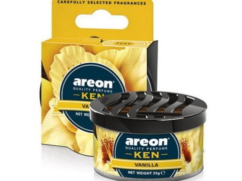 "Ароматизатор AREON ""GEL KEN BLISTER"" Vanilla (Ваниль)"