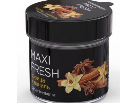 "Ароматизатор ""MAXIFRESH"" банка Корица и ваниль 100гр"