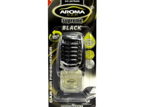 Ароматизатор Aroma Car Supreme Black 8ml